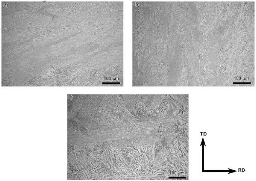 20191006142129 59666 - Microstructure, Texture and Mechanical Properties of TA32 Titanium Alloy Thick Plate