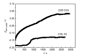 img 1 1 - Electrochemical corrosion behavior of 2205 and 316L stainless steel in hydrofluoric acid