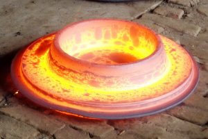 the whole process video of flange forging 300x200 - The whole process video of flange forging