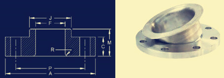 20191225105548 71057 - ASME/ANSI B16.5 Lap Joint Flange Dimensions