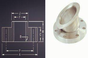 asme ansi b16 5 lap joint flange dimensions 300x200 - ASME/ANSI B16.5 Lap Joint Flange Dimensions
