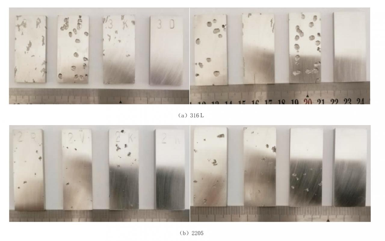 4d128718159a0e272111a56f729916af - Comparison of corrosion properties of 316L and 2205 stainless steel