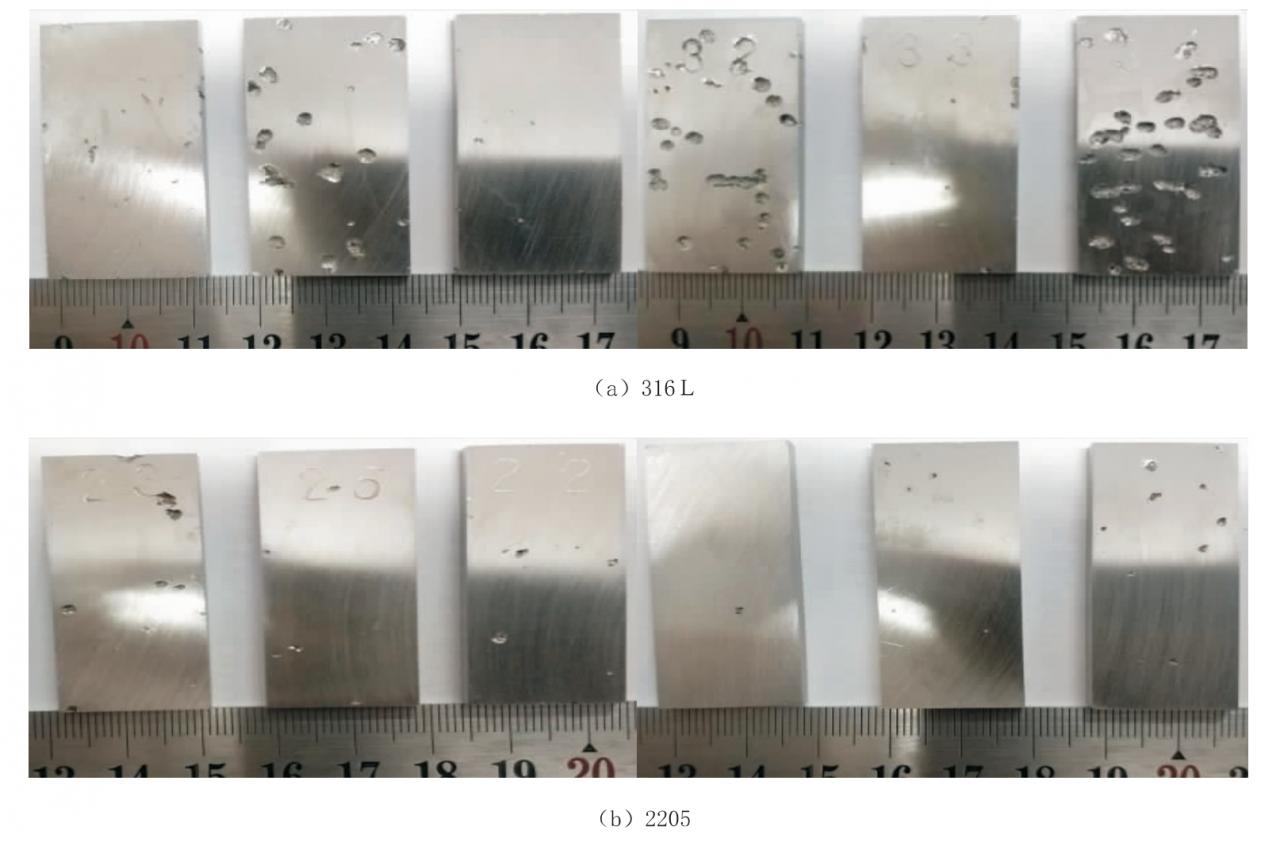 696f534b2fe1f586d299bffdbbff8611 - Comparison of corrosion properties of 316L and 2205 stainless steel