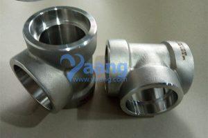 asme b16 11 a182 f53 socket weld tee dn50 3000 300x200 - ASME B16.11 A182 F53 Socket Weld Tee DN50 3000#