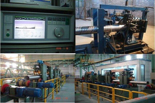 comparison of hydrostatic test and eddy current test for steel tube - Comparison of hydrostatic test and eddy current test for steel tube
