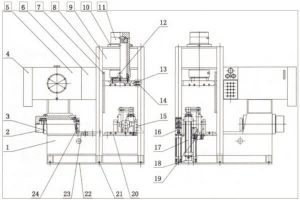 cold push forming process of elbow 300x200 - Cold push forming process of elbow