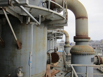 distillation column reboiler with incoloy 825 tubes as tube pass gulf fluor uae - Nickel-based super alloy: Incoloy 825 (UNS N08825/W.Nr. 2.4858)