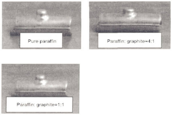 forming results of tee tubes with different bulging media - Bulging of reducing tee