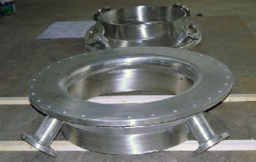 incoloy 825 gasifier quench ring - Nickel-based super alloy: Incoloy 825 (UNS N08825/W.Nr. 2.4858)
