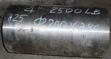 the incoloy 825 billet after descaling and cutting - Nickel-based super alloy: Incoloy 825 (UNS N08825/W.Nr. 2.4858)