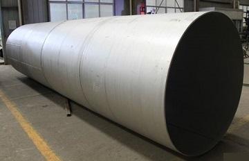 welded pipe 24in std astm b514 n08810 - Nickel-based super alloy: Incoloy 800H (UNS N08810/W.Nr. 1.4958)