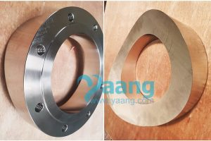 ansi b16 5 astm a182 f321 flat pad flange raised face 8 inch class150 300x200 - ANSI B16.5 ASTM A182 F321 Flat Pad Flange Raised Face 8 Inch Class150