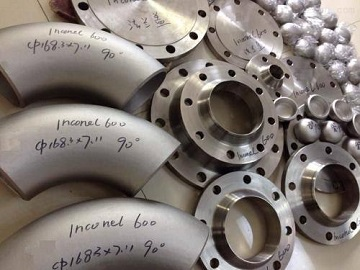 inconel 600 flanges and pipe fittings 1 - Nickel-based super alloy: Inconel 600 (UNS N06600)