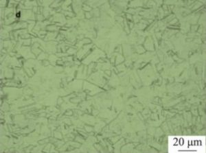 microstructure of inconel 600 after solution treatment at 1100°C 300x223 - microstructure-of-inconel-600-after-solution-treatment-at-1100°C