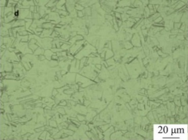 microstructure of inconel 600 after solution treatment at 1100%C2%B0C - Nickel-based super alloy: Inconel 600 (UNS N06600)
