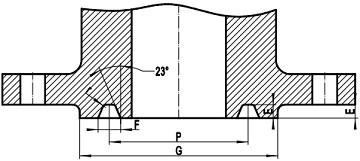 rtj flg face - ANSI B16.5 ASTM B381 Titanium Blind Flange