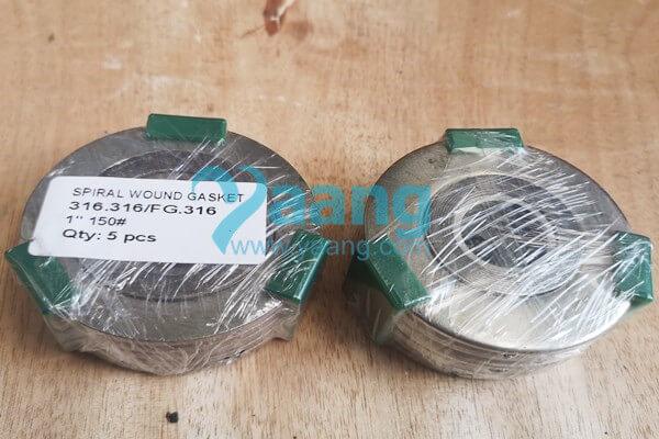 ASME B16.20 316.316/FG.316 Spiral Wound Gasket 1″ 150#
