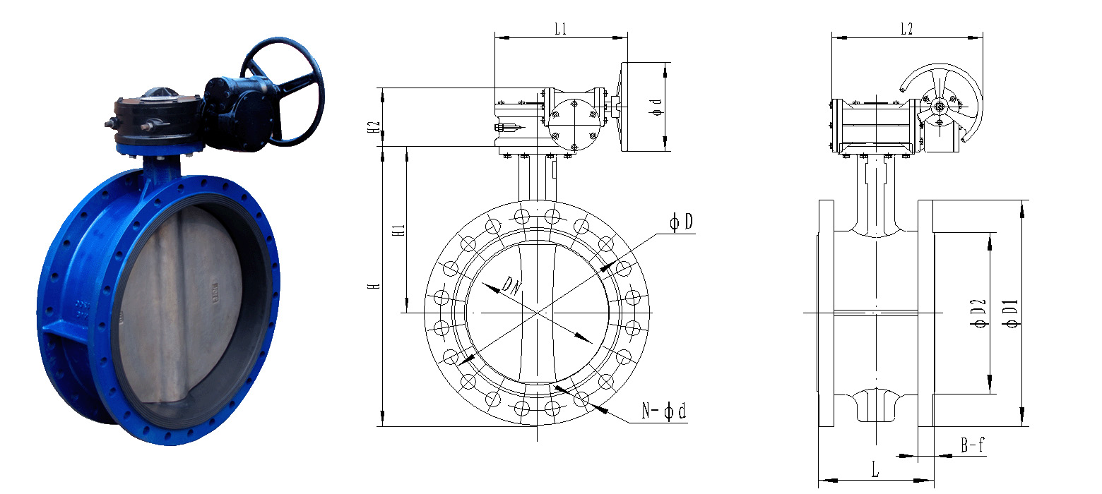 1 1P131163I0207 - Selection principles and applicable occasions of butterfly valves