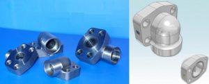 SAE socket weld elbow flange 1 300x121 - SAE-socket-weld-elbow-flange-1