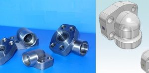 SAE socket weld elbow flange - What is a SAE flange?