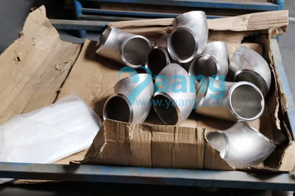 ASTM B366 Incoloy 825 Seamless 90 Degree LR Elbow DN150 SCH80S