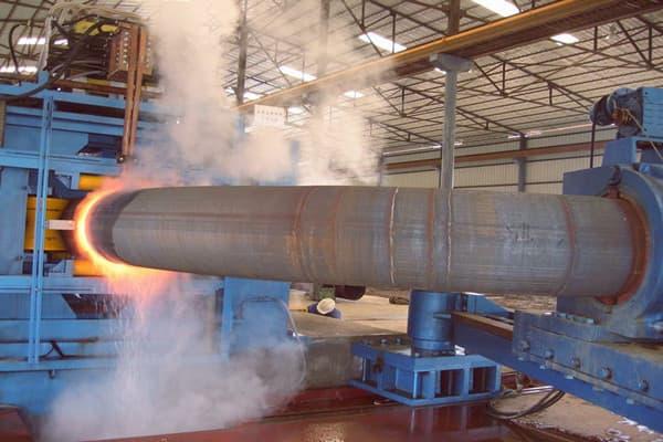o1219mm o1422mm x80 steel induction bends - Ø1219mm, Ø1422mm X80 steel induction bends