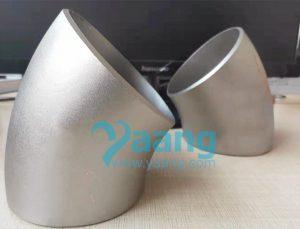 asme b16 9 astm b363 titanium 45 degree elbow 300x229 - ASME B16.9 ASTM B363 Titanium 45 Degree Elbow