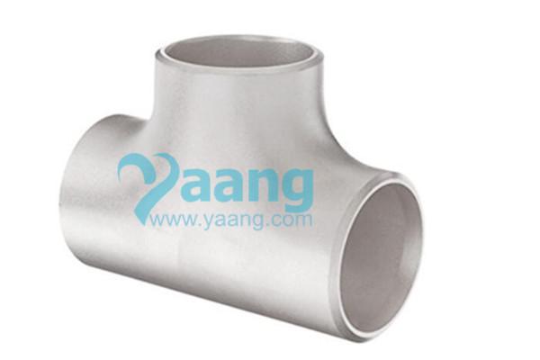 ASME B16.9 ASTM B363 Titanium Equal Tee