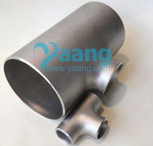 asme b16 9 astm b363 titanium reducing tee 300x286 - ASME B16.9 ASTM B363 Titanium Reducing Tee