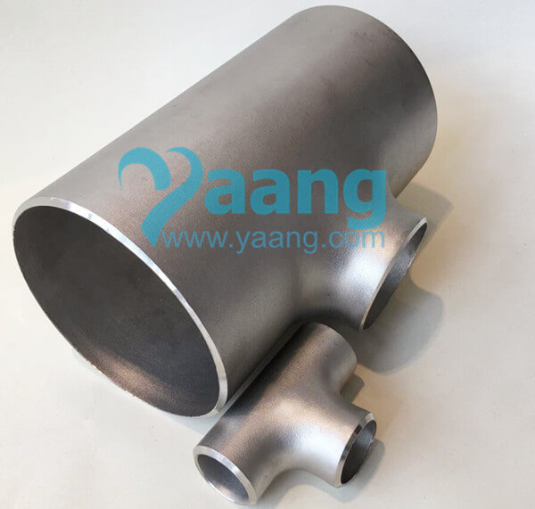 ASME B16.9 ASTM B363 Titanium Reducing Tee