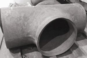 study on flanging process of large diameter tee 300x200 - Study on flanging process of large diameter tee