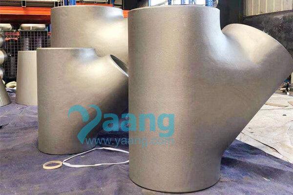 ASME B16.9 WP316L 45 Degree Seamless Lateral Tee 20″ SCH80