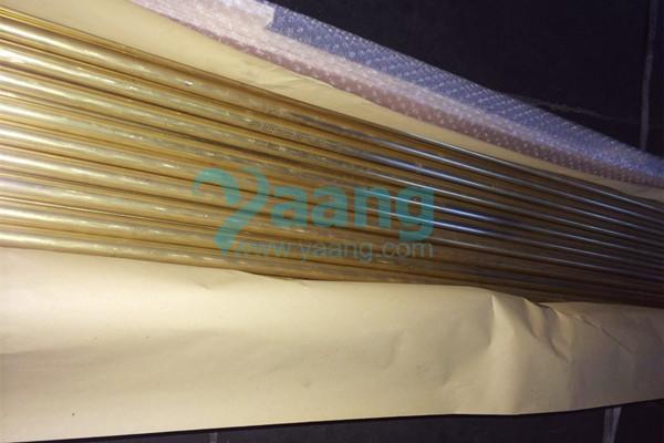 ASTM B111 UNS C68700 Seamless Aluminum Brass Tube 1/4″ SCH10S 6M