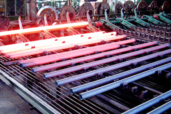 Production of steel pipe
